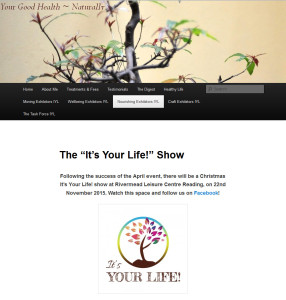 It's Your Life Show Nov 2015
